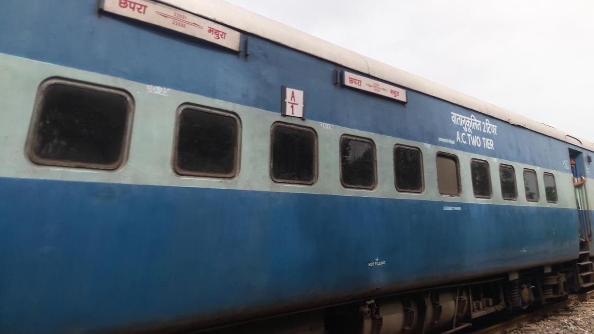 22531/Chhapra - Mathura Express - Chhapra to Mathura NER/North