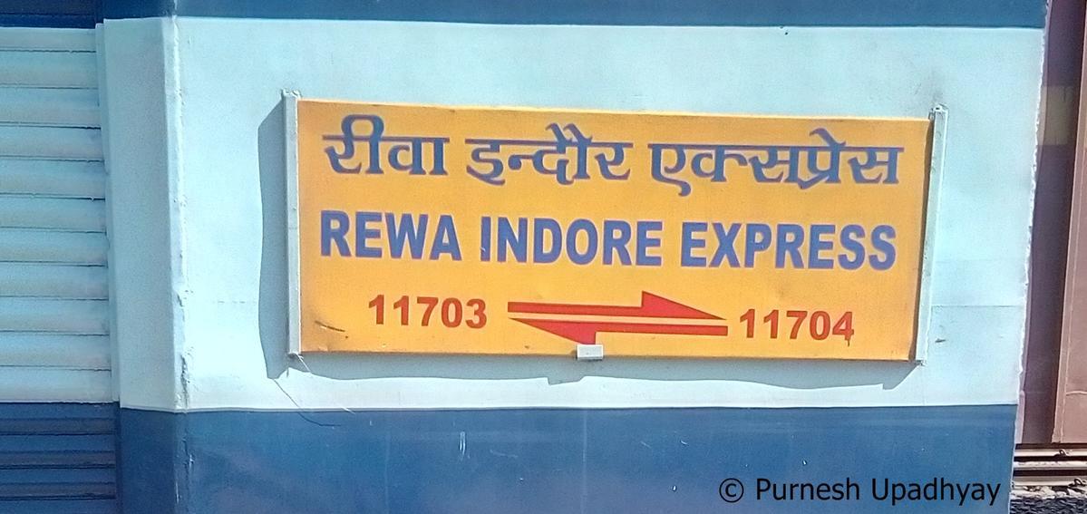 11704/Dr. Ambedkar Nagar - Rewa Express (PT) - Katni to Satna WCR/West  Central Zone - Railway Enquiry