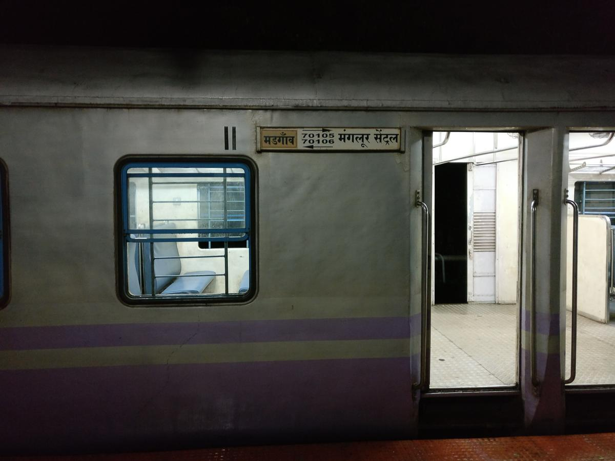 Mangaluru Central - Madgaon DEMU/70106 Time Table/Schedule ...