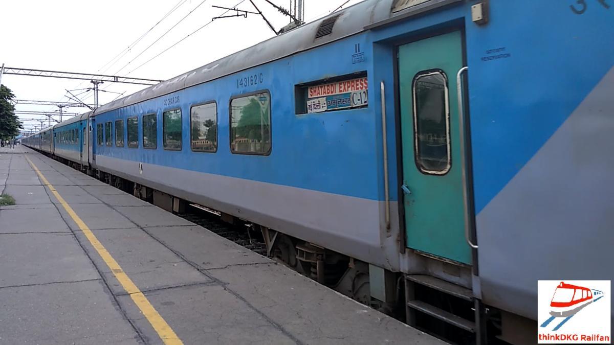 amritsar new delhi shatabdi express 12014 irctc fare enquiry