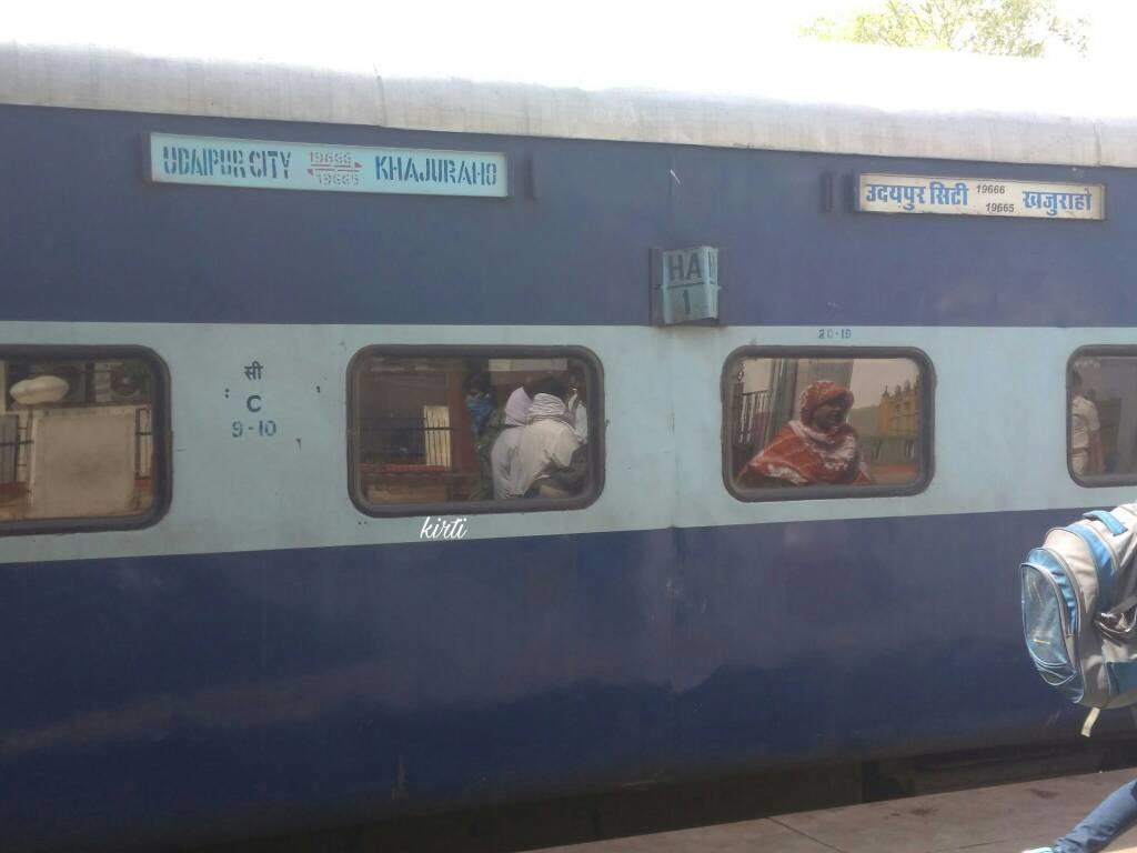 19666/Udaipur City - Khajuraho Express - Udaipur to Khajuraho NWR/North  Western Zone - Railway Enquiry