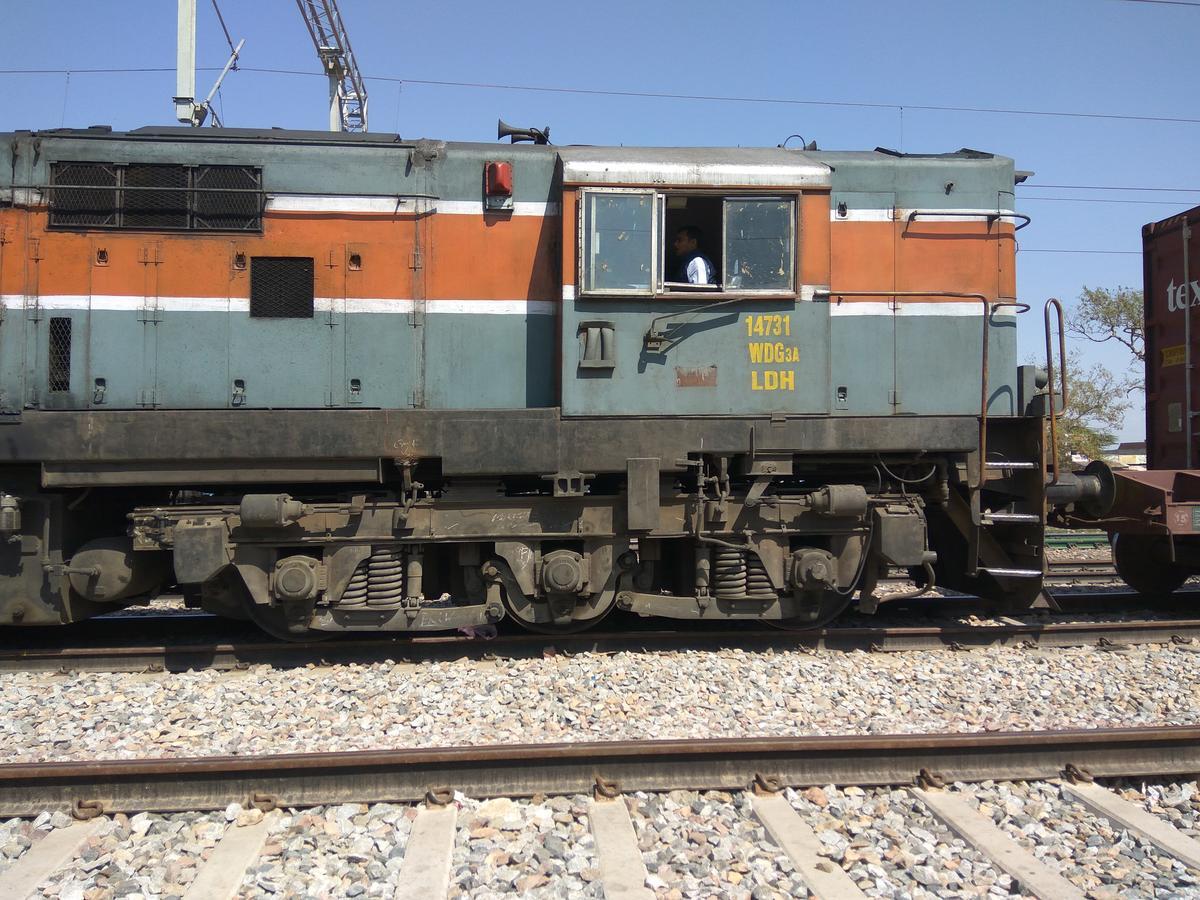 LDH/WDG-3A/14731 Locomotive - Railway Enquiry