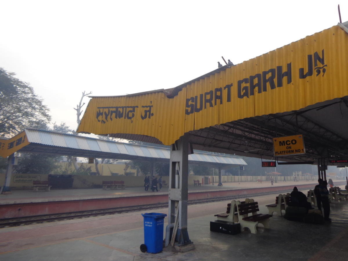 Image result for Suratgarh junction