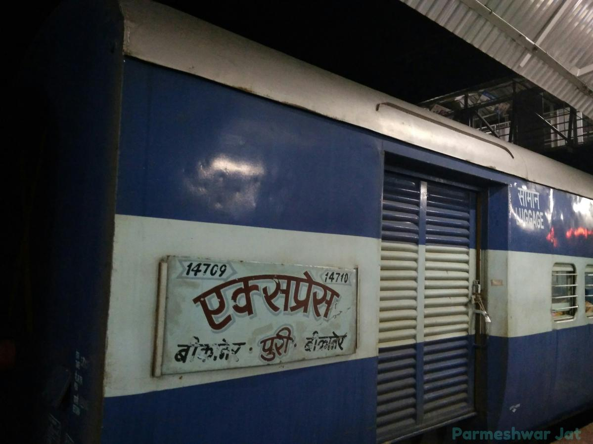 14709/Bikaner - Puri Express - Bikaner to Puri NWR/North Western Zone -  Railway Enquiry