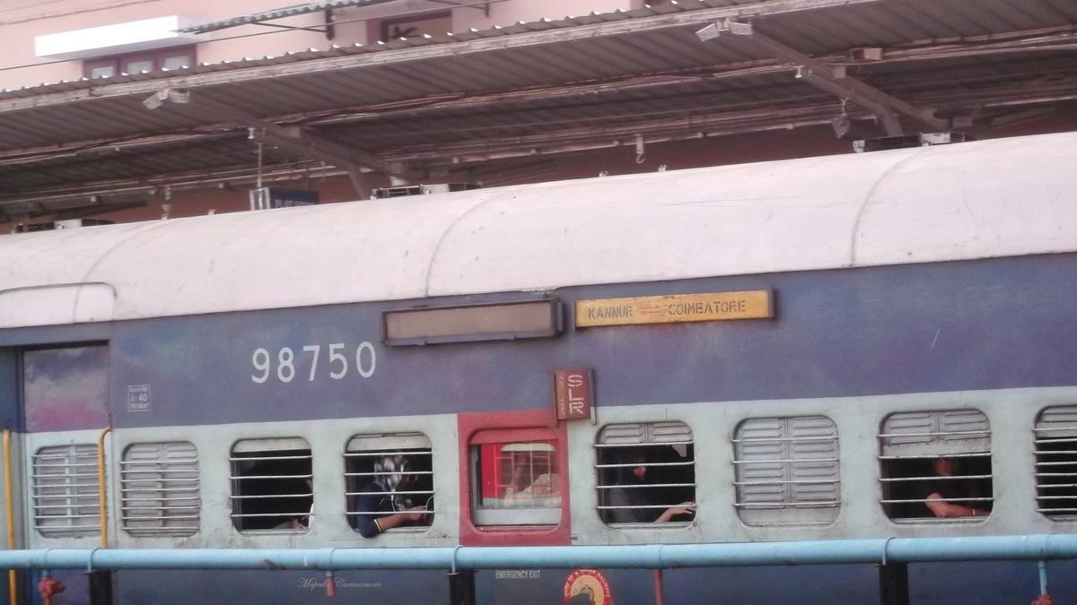 56650/Kannur - Coimbatore Fast Passenger (UnReserved) - Shoranur to