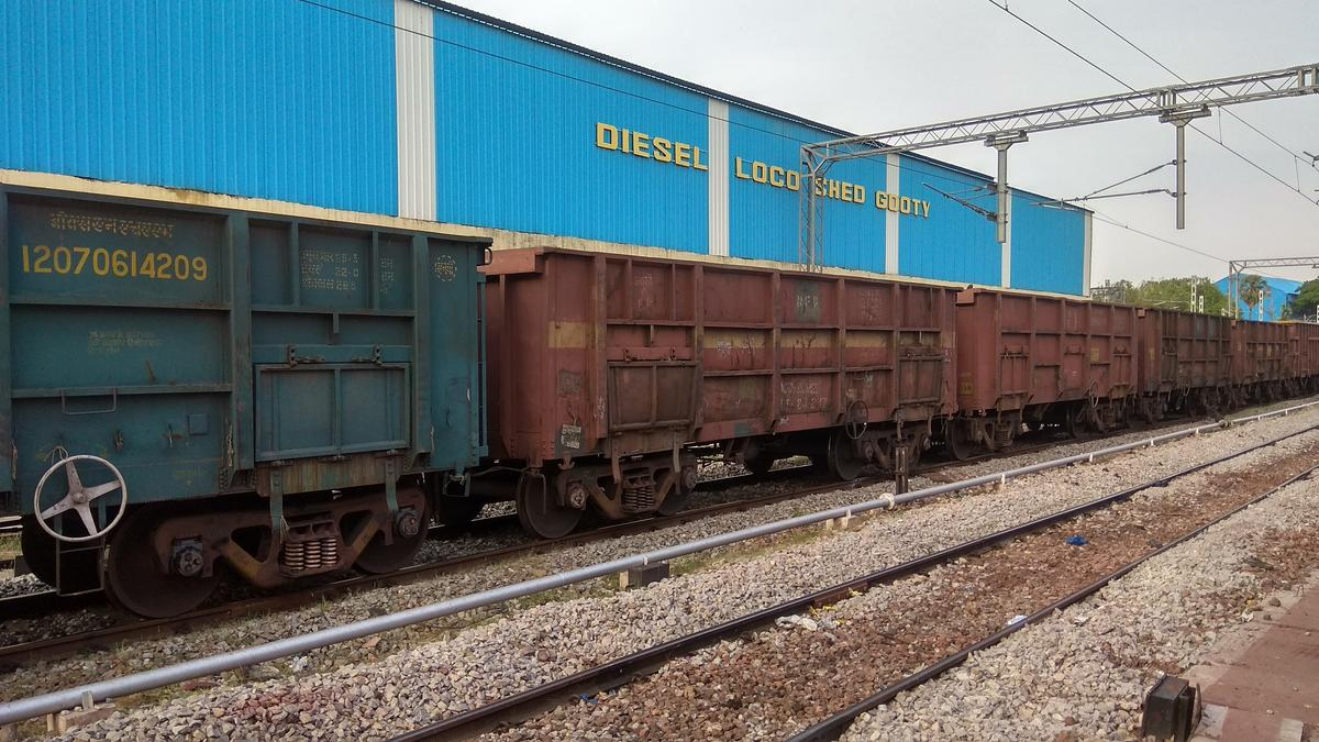 GY-DLS/Gooty sel Loco Shed Railway Station Map/Atlas SCoR ... on
