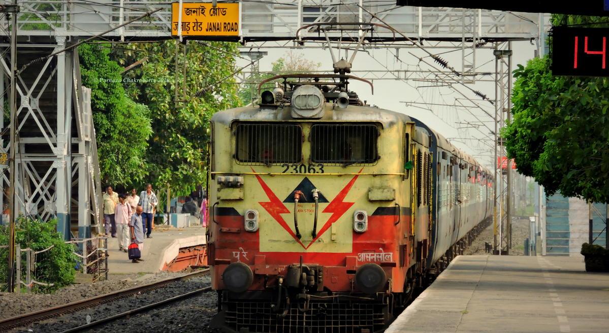 Janai Road Railway Station Map Atlas Er Eastern Zone Railway Enquiry