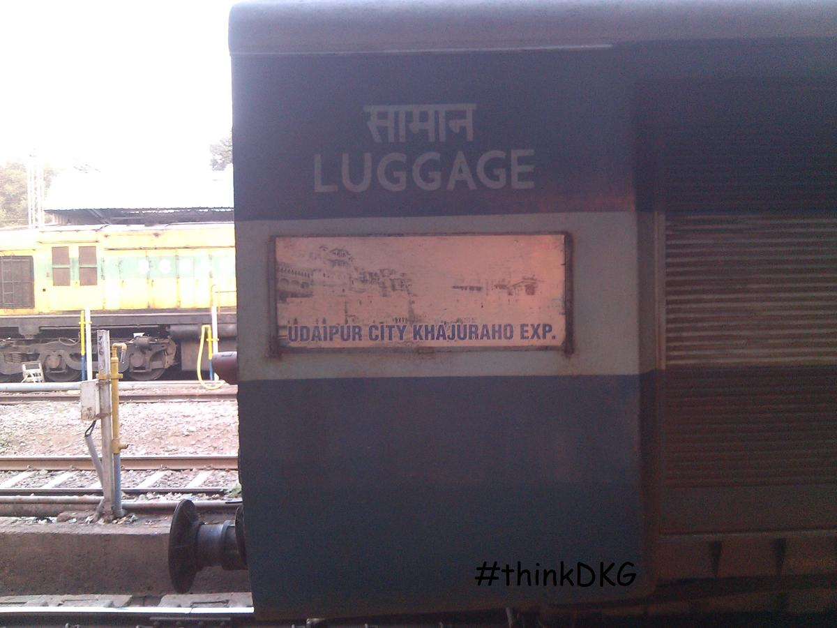 Udaipur City - Khajuraho Express/19666 Time Table/Schedule: Udaipur to  Khajuraho NWR/North Western Zone Complete Train Route - Railway Enquiry