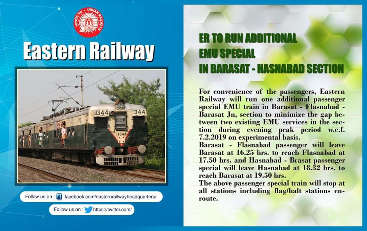 Barasat Railway Station Forum/Discussion - Railway Enquiry