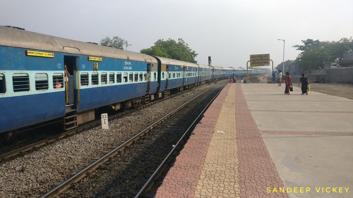 17652/Kacheguda - Chengalpattu Express (PT) - Kacheguda to Chennai