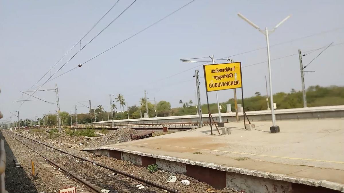 Guduvancheri Railway Station Picture & Video Gallery - Railway Enquiry
