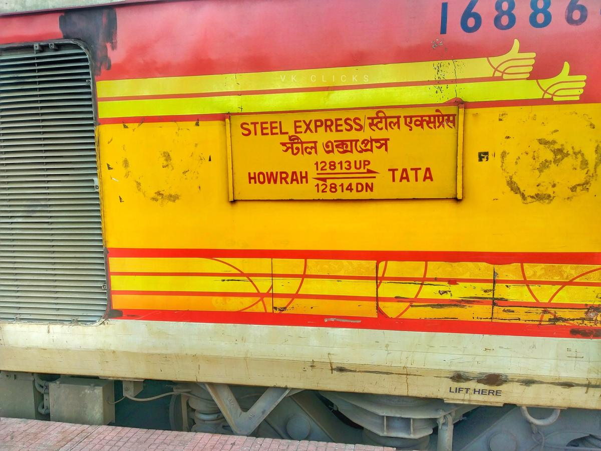 Tata Steel Express/6 IRCTC Reservation/Availability Enquiry