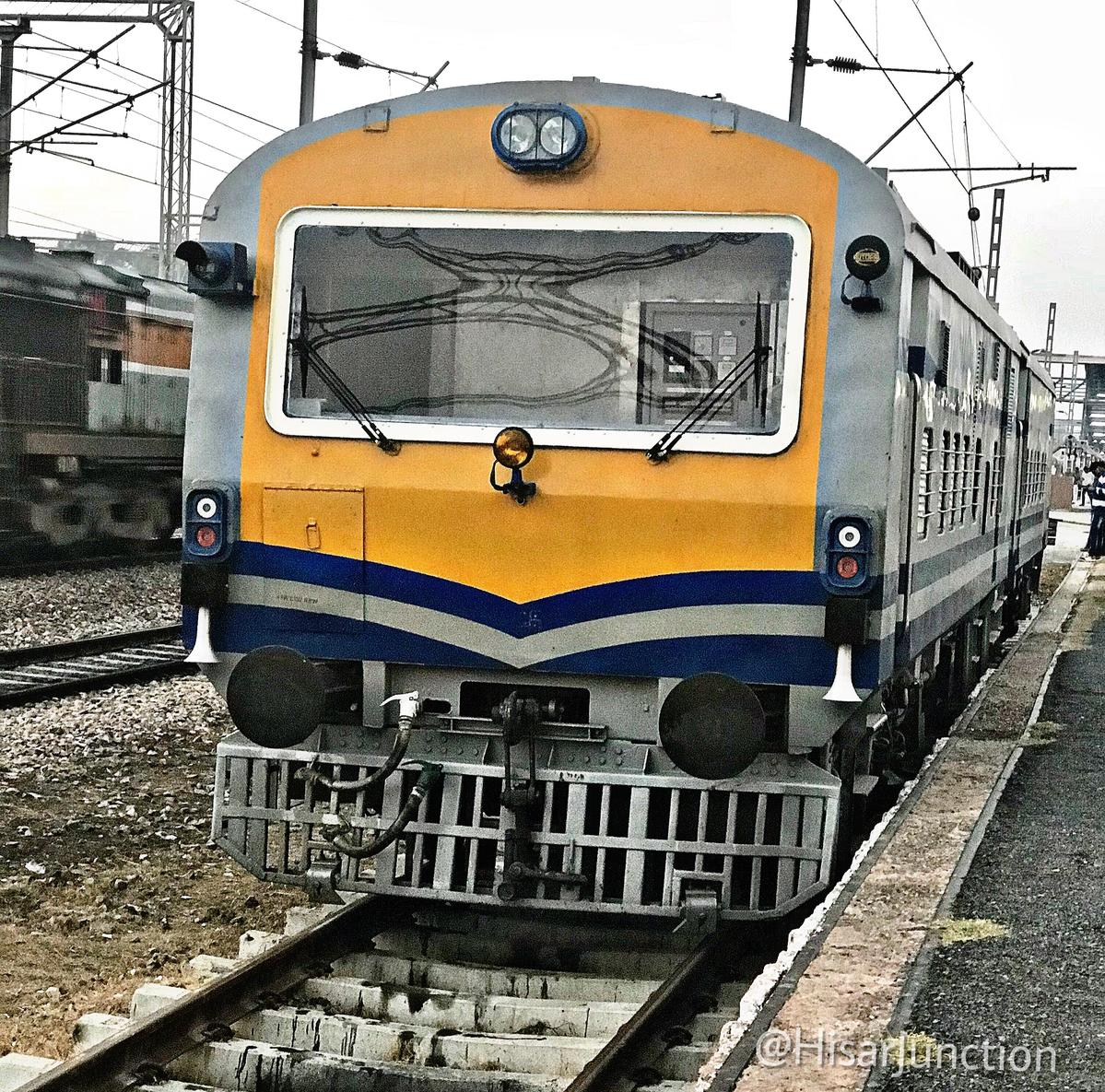 2791407-0: A brand new OHE Inspection Car resting a BNW/BNW/Bhiwani