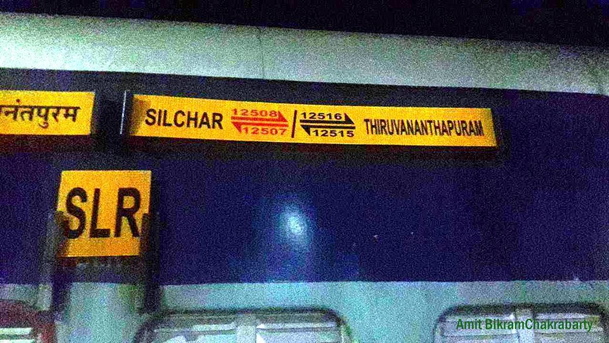 Thiruvananthapuram - Silchar Express (PT)/12515 Time Table