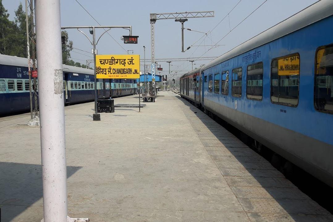 chandigarh to bandra terminus 9 trains shortest distance 1570 km