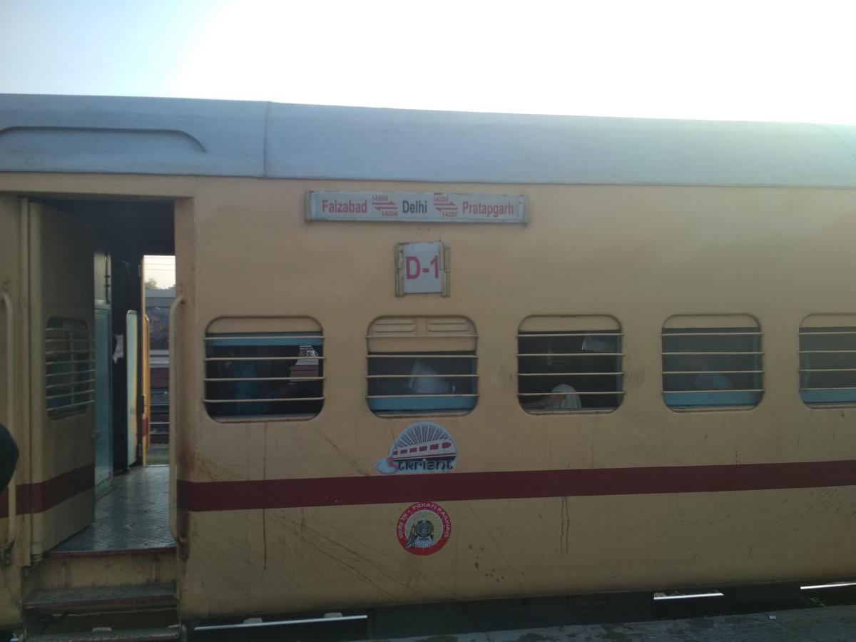 Faizabad - Delhi Express/14205 IRCTC Reservation/Availability