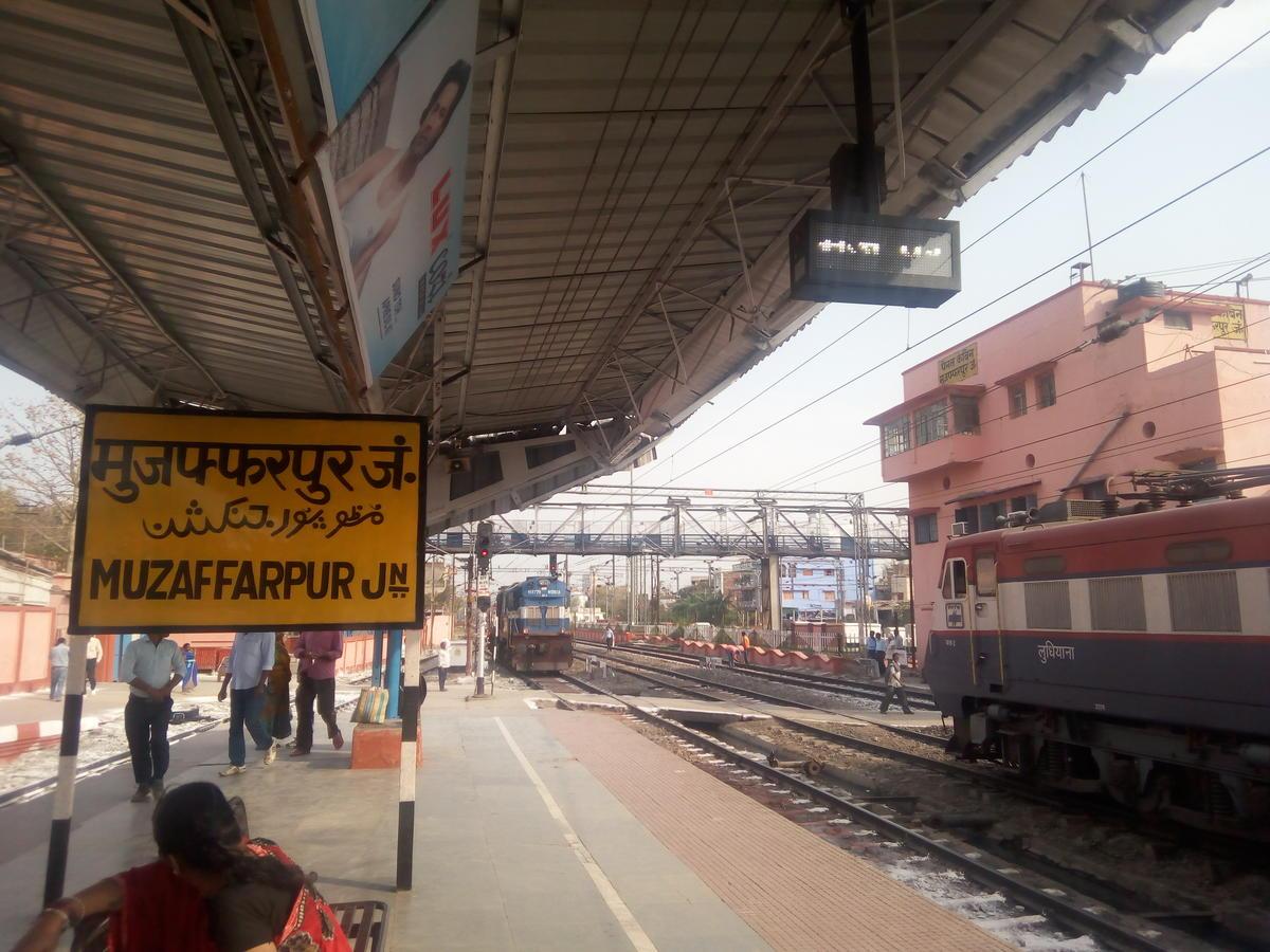 Muzaffarpur to Darbhanga: 13 Trains, Shortest Distance: 89 km