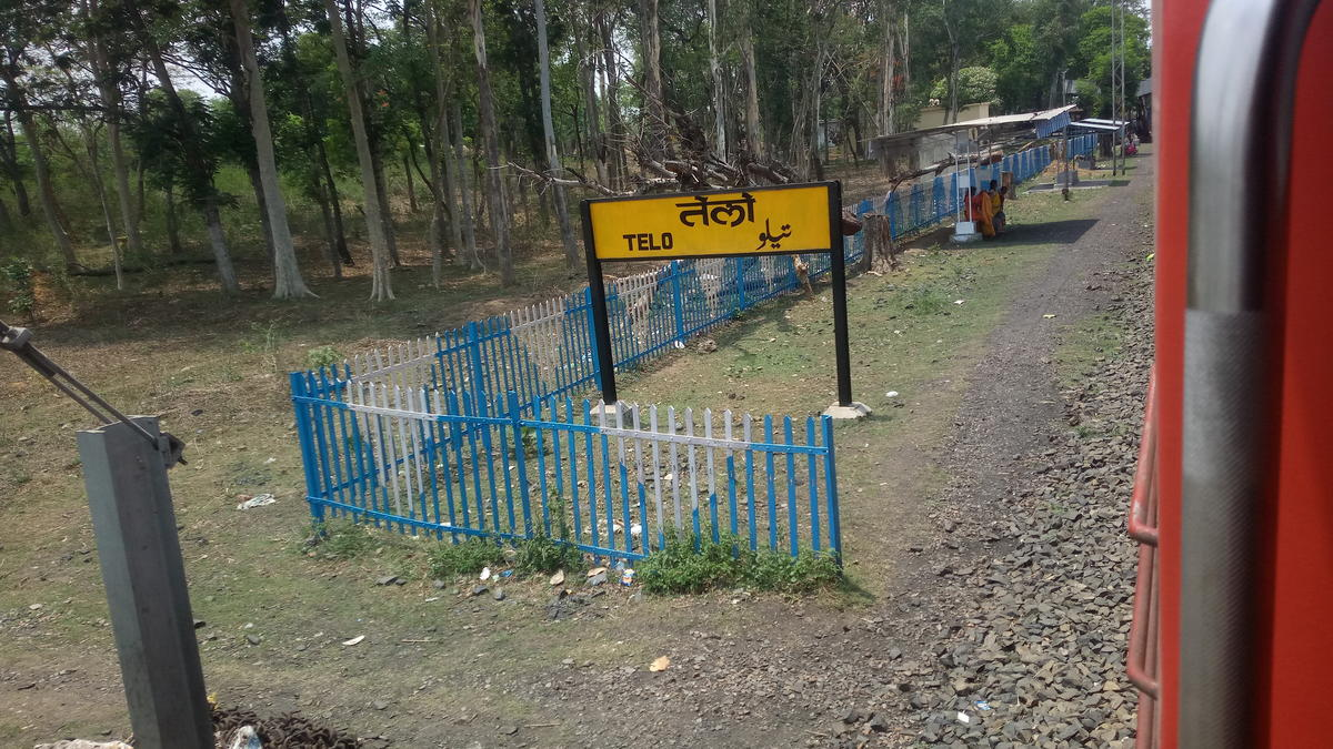 Telo Telo Railway Station Map Atlas Ecr East Central Zone Railway Enquiry