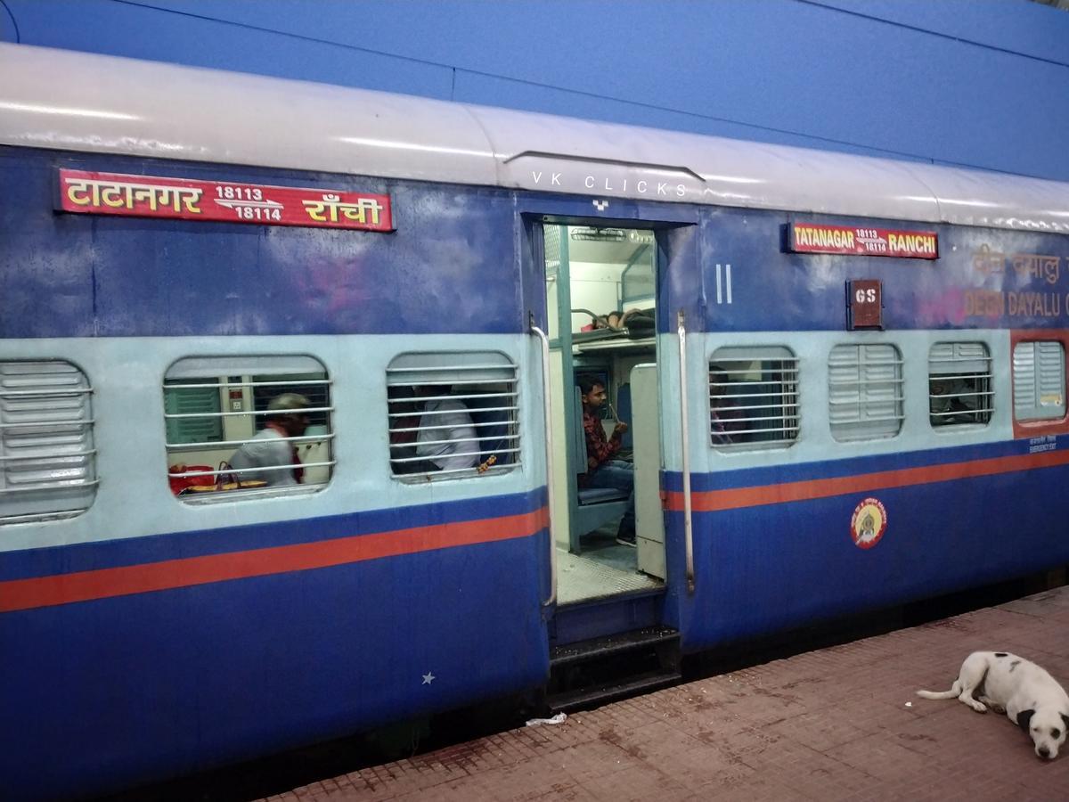 Tatanagar - Ranchi Intercity Express/18113 Time Table