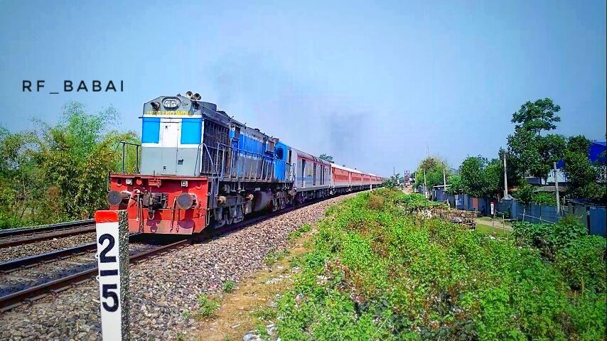 15667/Gandhidham - Kamakhya Express
