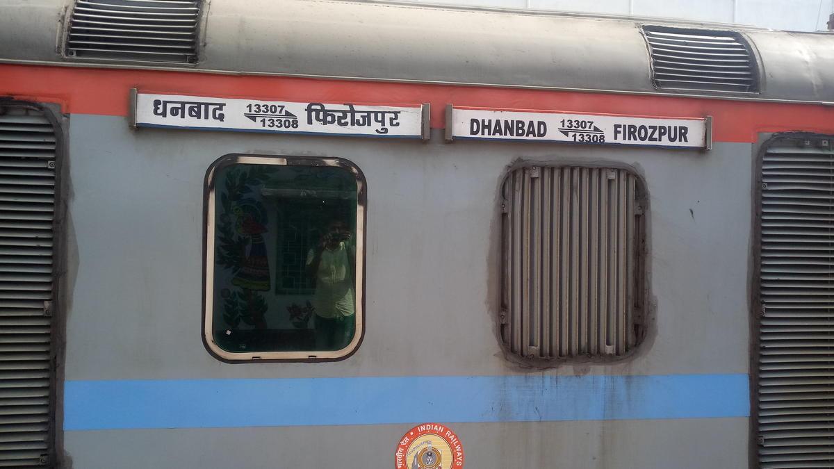 13307 train running status