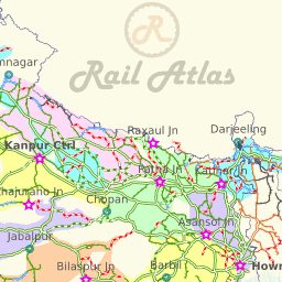 Railway Map Of India Pdf.Indian Railways Map Railway Enquiry