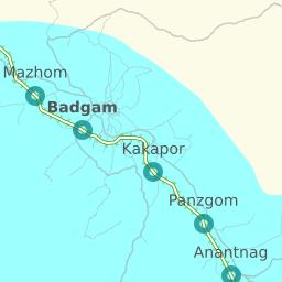 Shortest Rail Distance Jammu Tawi To Srinagar Kashmir 22